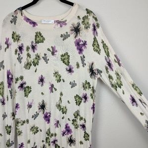 Equipment Sweaters - Equipment Sloane Floral Silk Cashmere Sweater